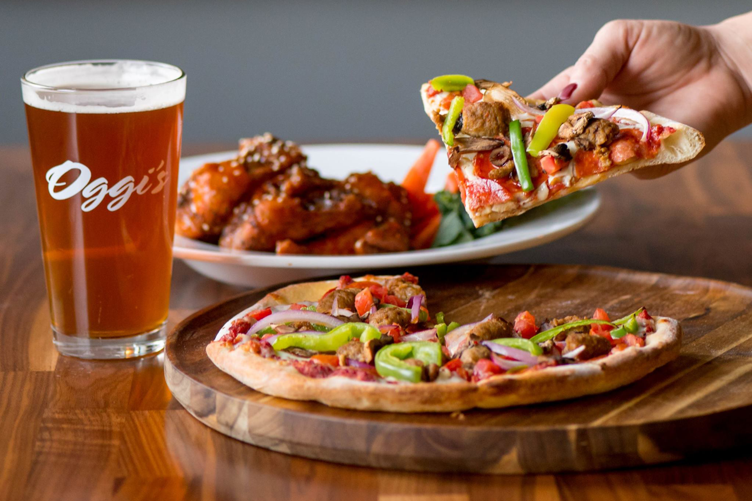 Oggi S Pizza Brewing Co Happy Hour Mission Valley King Of Happy Hour
