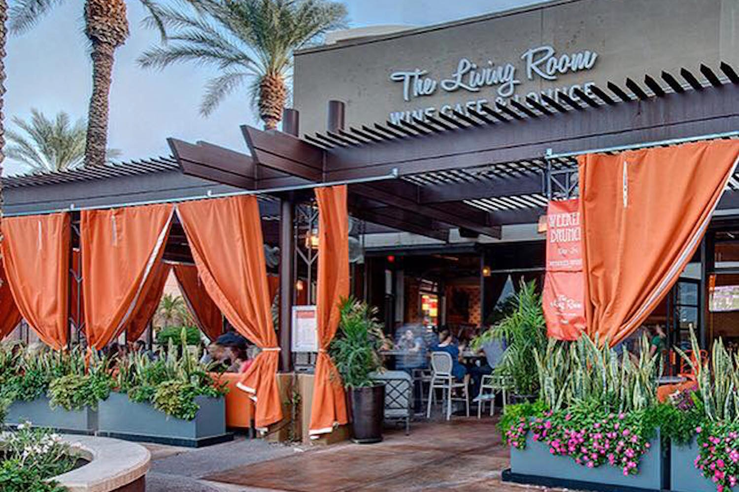 The Living Room Wine Cafe Lounge Happy Hour Ahwatukee King Of Happy Hour